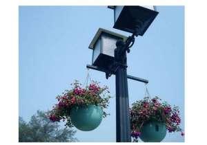 生态城智慧路灯杆预计2018年7月投用衰减器